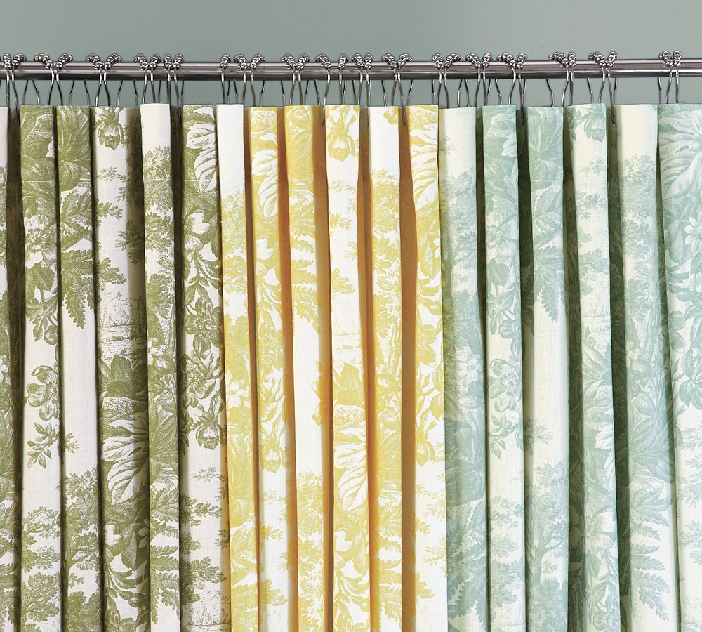 Home Industrial Using Shower Curtains As Window Treatments