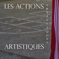 Les actions artistiques