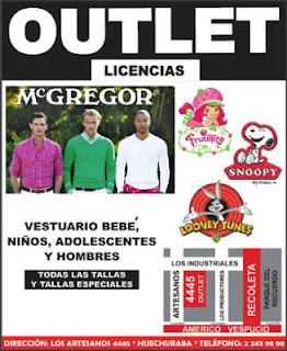 OUTLET MC GREGOR