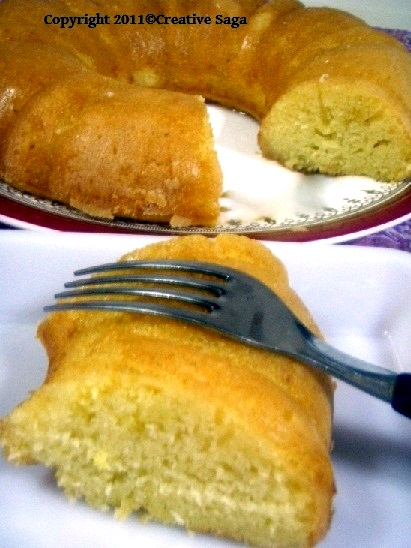 easiest lemon cake