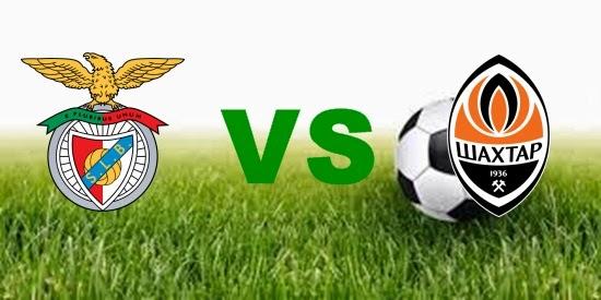 Prediksi Skor Terjitu Benfica vs Shakhtar jadwal 13 Juli 2014