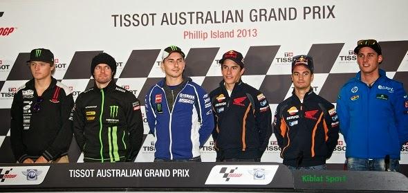 Hasil MotoGP Phillip Island Australia 2013, Free Practice 1 2 3 4