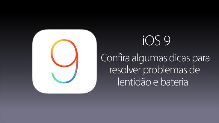 Dicas para o iOS 9