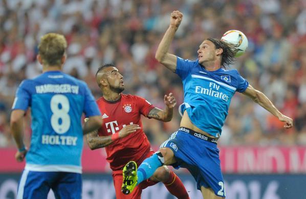 Hasil Bundesliga HT: Bayern Munchen 1-0 Hamburg