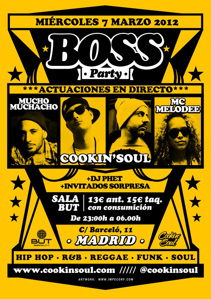 Madrid Sala BUT 7 Marzo