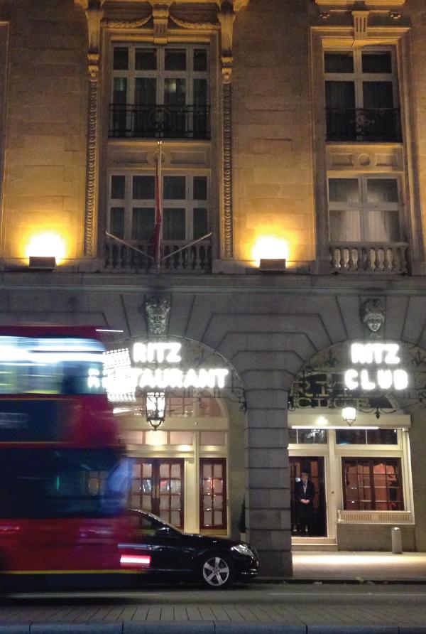 the ritz london.
