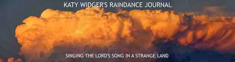 Katy Widger's Raindance Journal