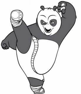 panda coloring pages, kids coloring pages