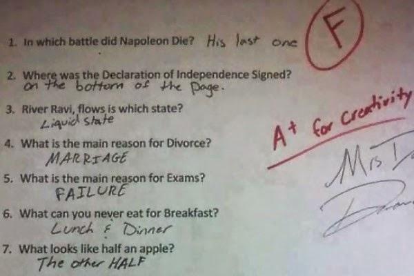 Jawaban Ujian Kreatif