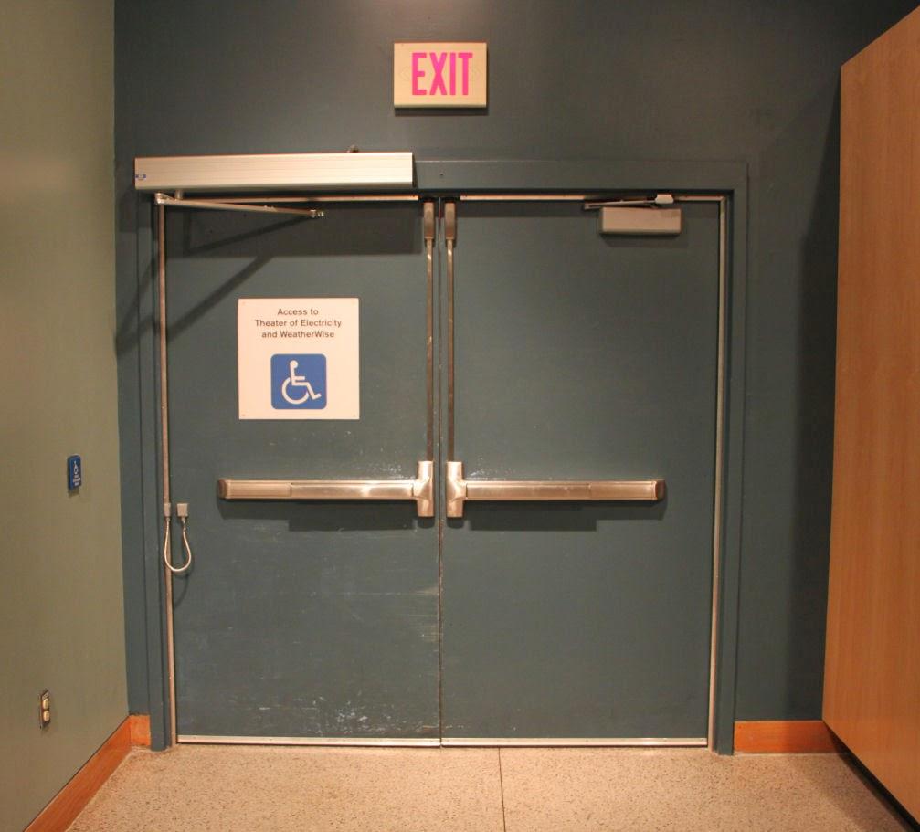 Fire Escape Door : Fire exit doors short description