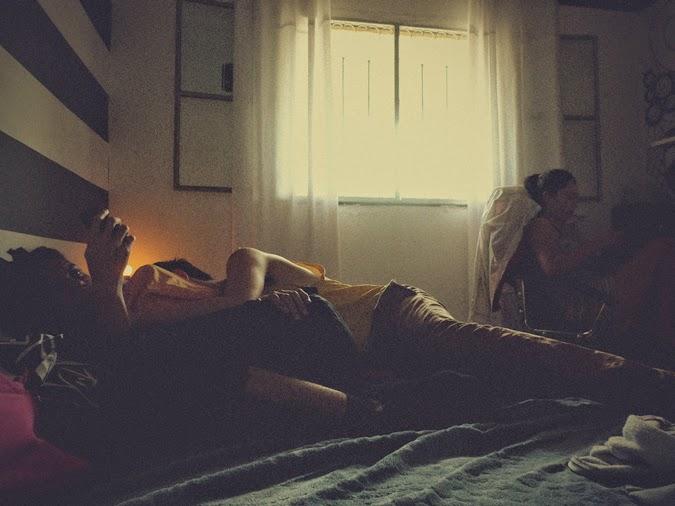 Gustavo, Eddie e Thais - Tarde no meu quarto