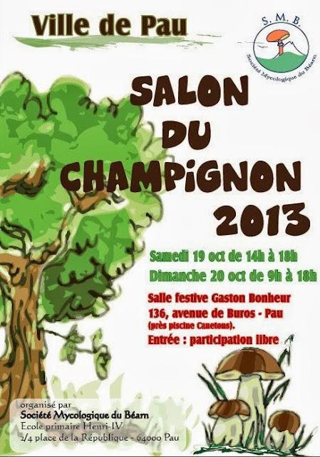 SALON DU CHAMPIGNON 2013 de Pau