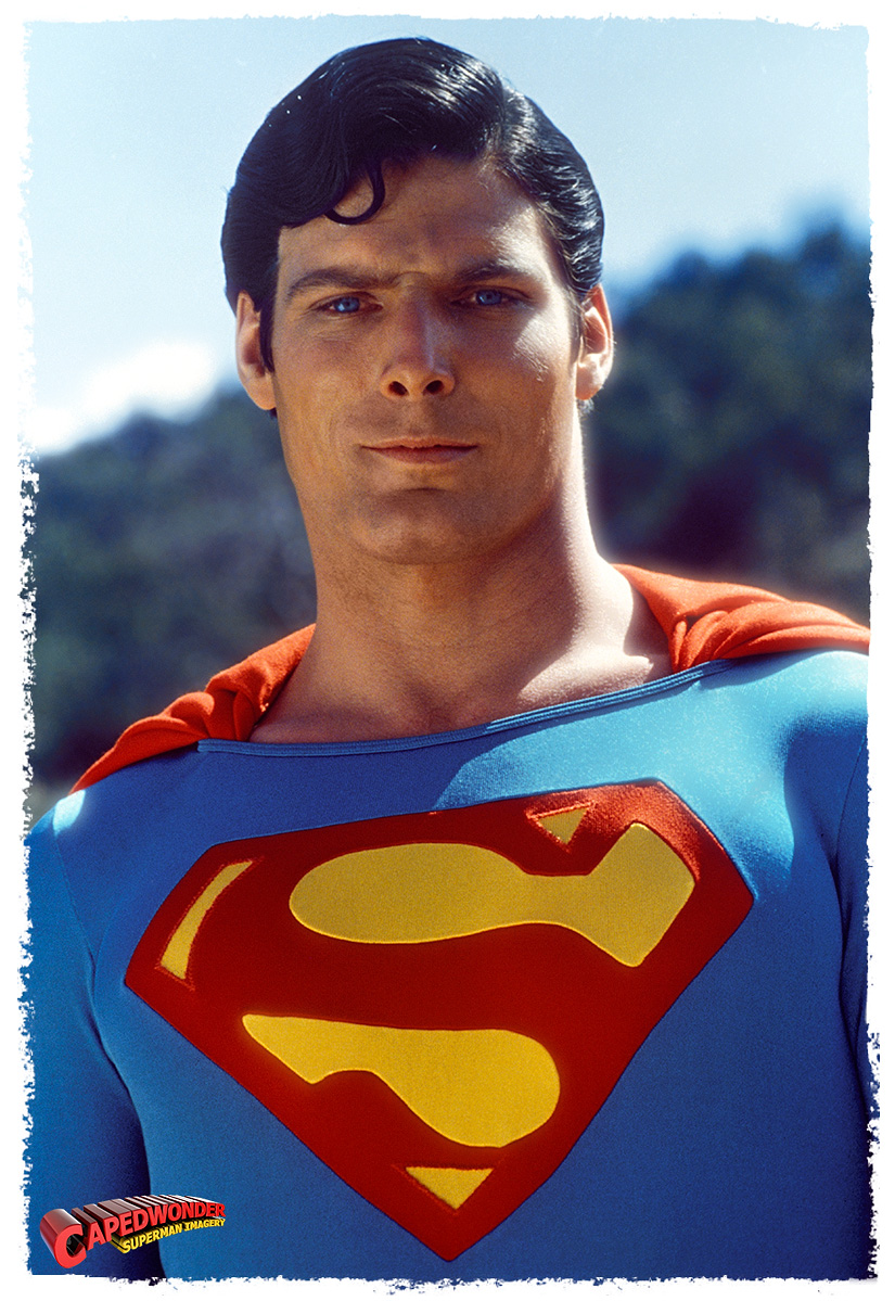Christopher Reeve As Clark Kent Superman I Fell Head