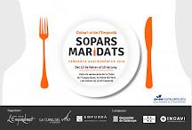 """4a edició de la campanya gastronòmica """"Sopars Maridats"""" a l'Empordà"""