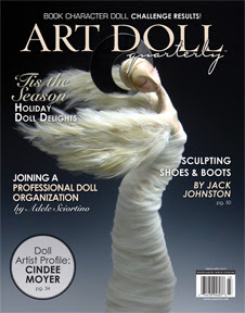 BAH HUMBUG ART DOLL QUARTERLY WINTER 2012