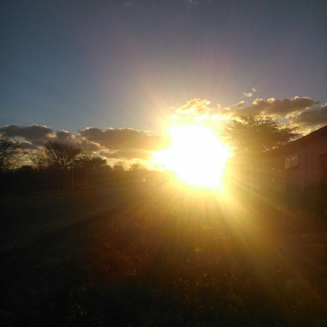 O meu pôr do Sol