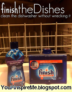 Did you know? Vinegar can eat away at rubber hoses & seals: Try FINISH Dishwasher cleaner instead.