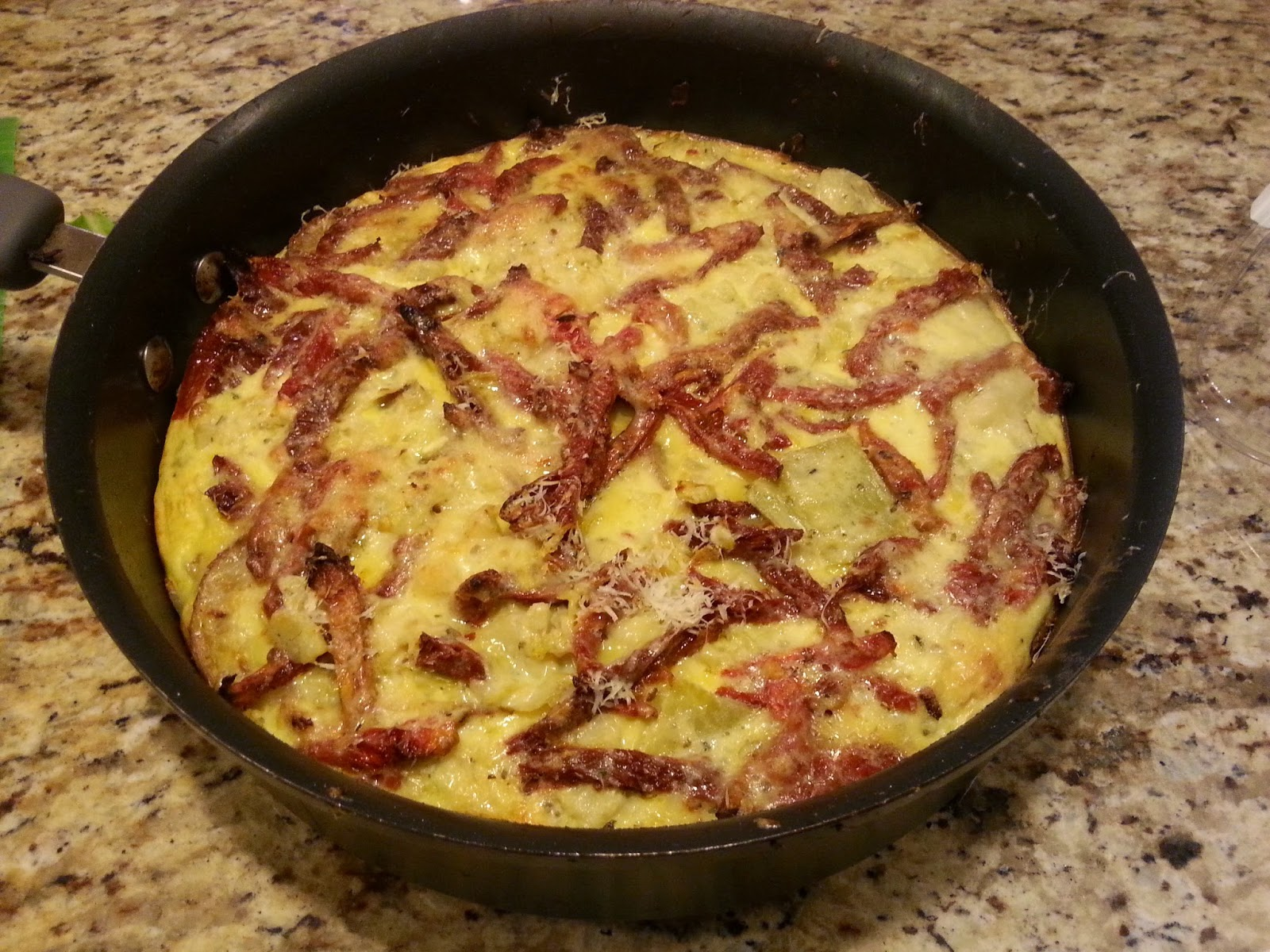 Spanish Frittata... So yummy!!! | Eat and Be Merry
