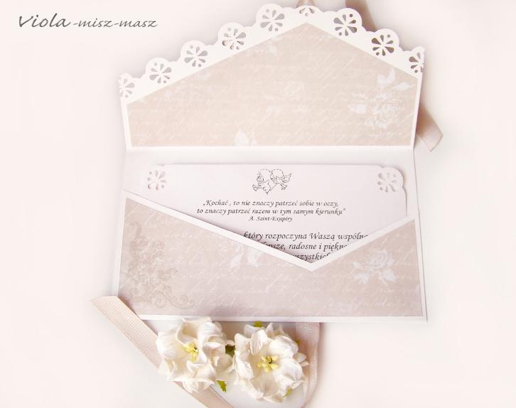 ślubna kopertówka