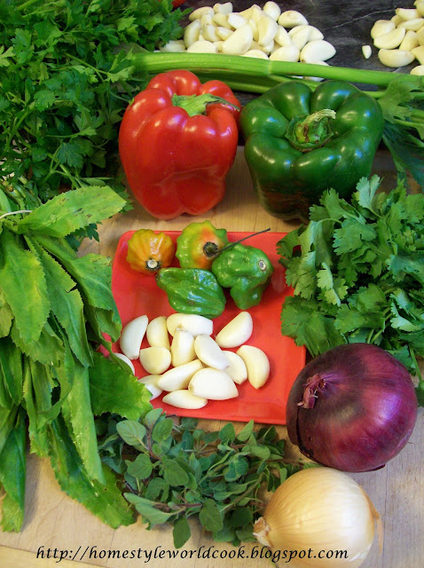 how to make sofrito puerto rican style