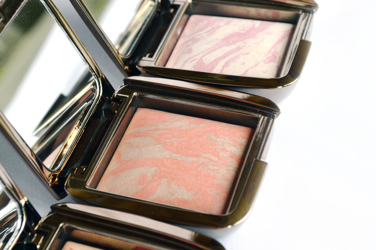 Hourglass ambient lighting blush swatches and review