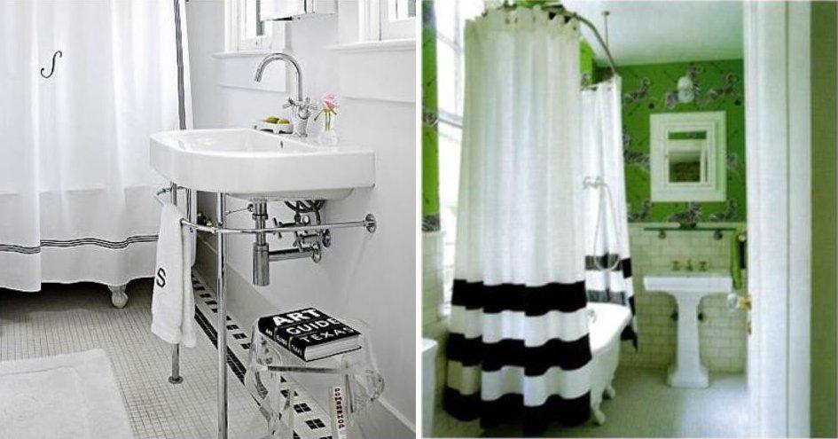 My Custom Monogrammed Shower Curtain
