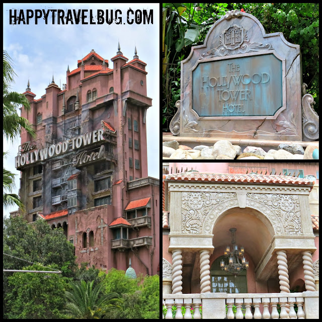 The Hollywood Tower of Terror ride at Hollywood Studios