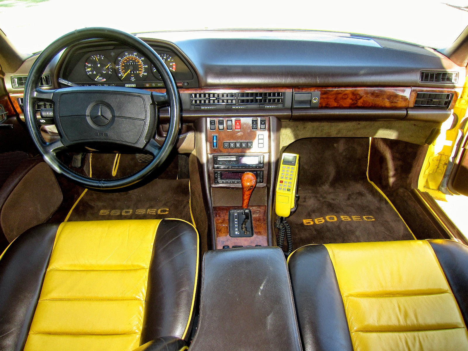 c126 interior