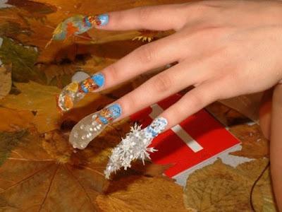 nail nailart 3dnailart arylicnail art kawaii japanese candy design cool best hello kitty candy tokyo 252832529 - Nail Art