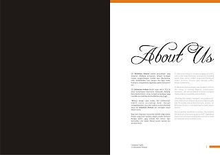 Contoh Company Profile Cetak Perusahaan Furniture atau Mebel
