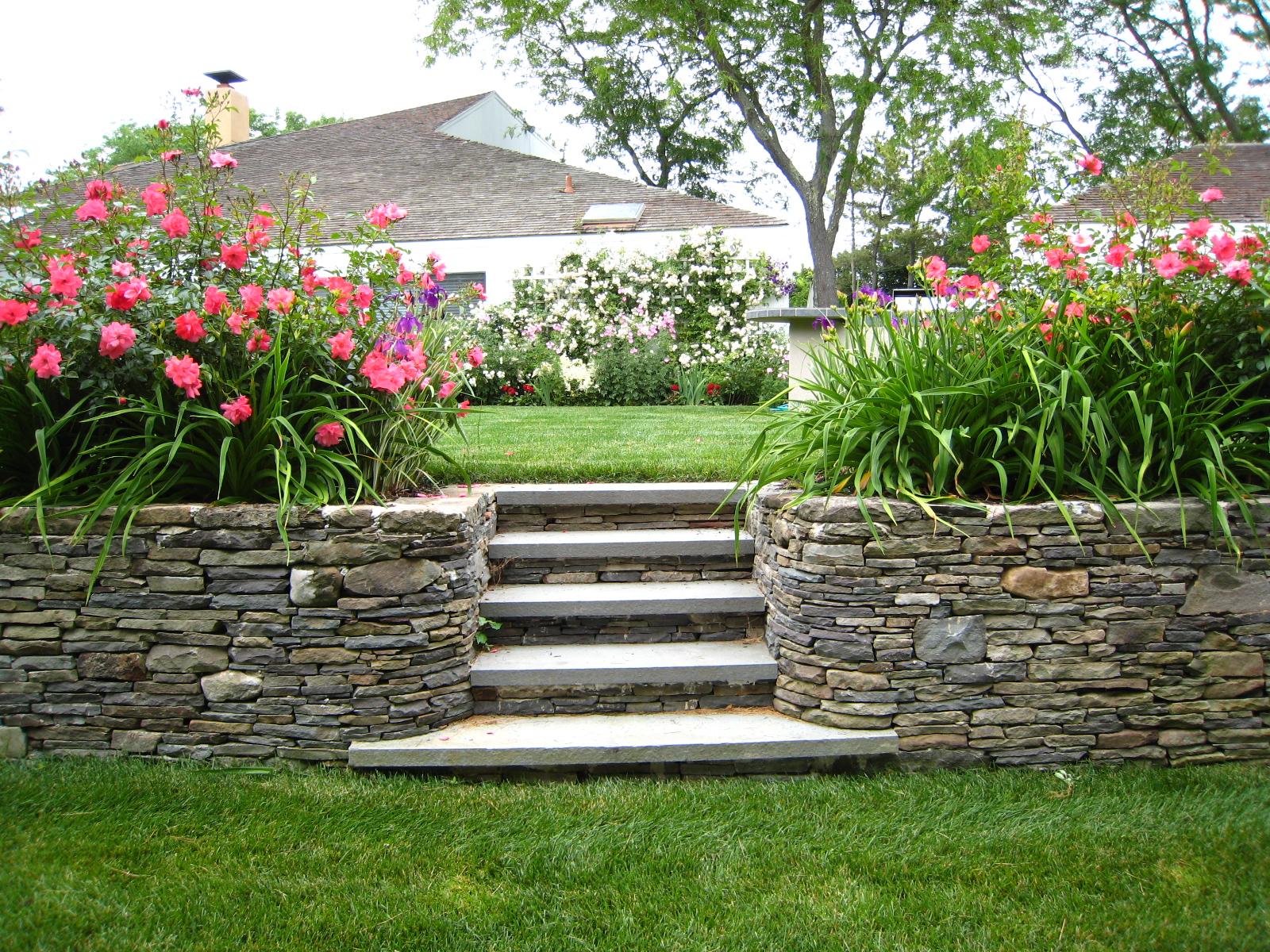 Home garden landscaping - Backyard Idea Landscaping Garden Design