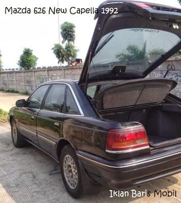 Dijual - Mazda 626 new capella hitam 1992