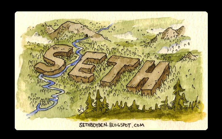 Seth Boyden Blog