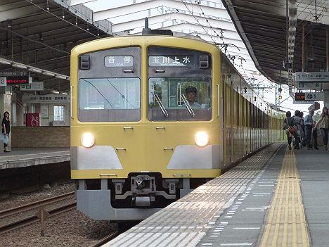 西武新宿線 各停 玉川上水行き 新101系