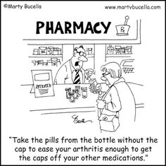 Pill Bottles are a Challenge...