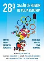 Artista Selecionado - Salão Nacional de Humor de Volta Redonda, RJ (2016)