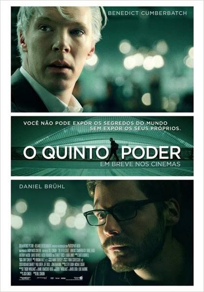 Capa Baixar Filme O Quinto Poder   BDRip Baixaki Download
