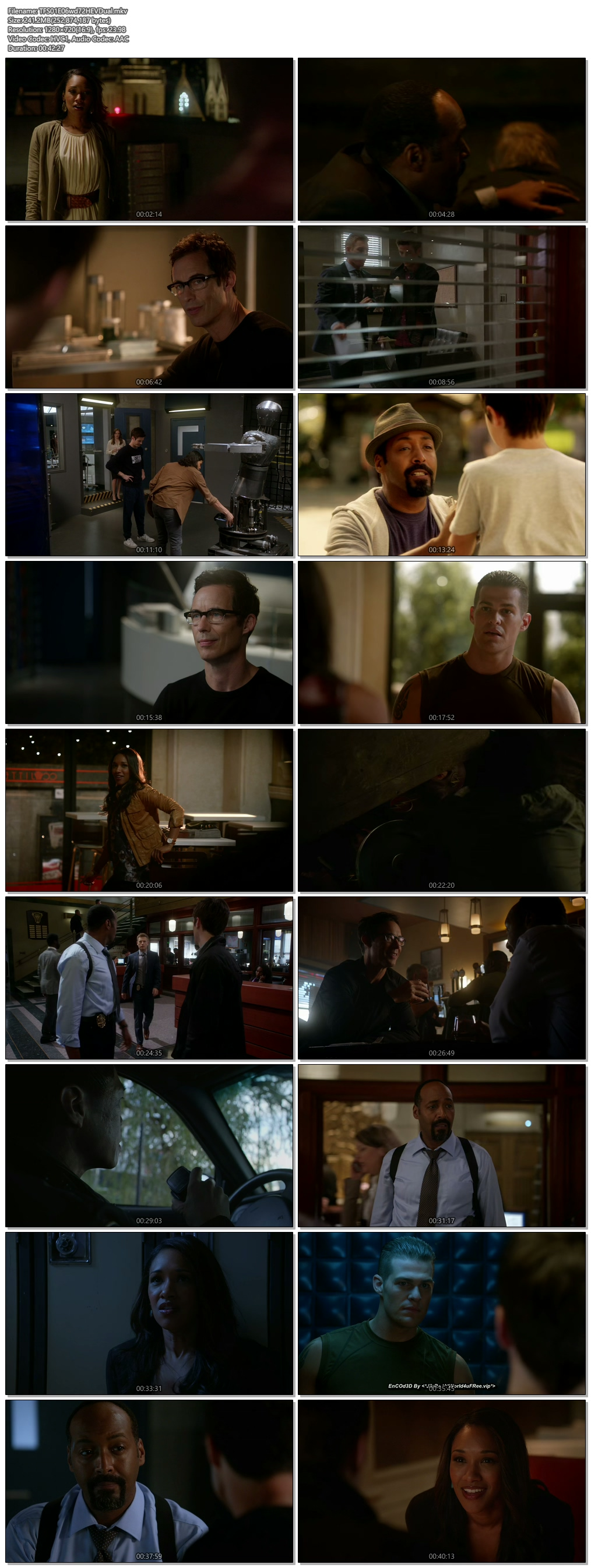 Screenshots Of Hindi Dubbed Show The Flash 2015 Season 01 Episode 06 300MB 720P HD