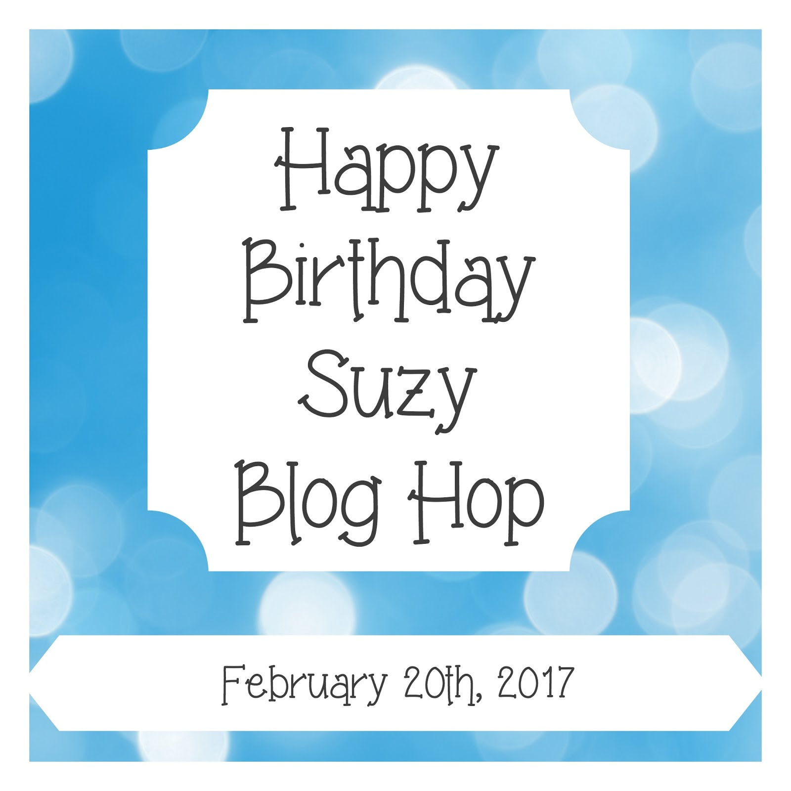 Happy Birthday Suzy!