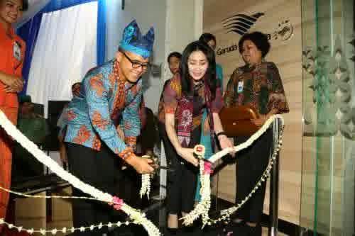 Garuda resmi membuka kantor penjualan di Banyuwangi.