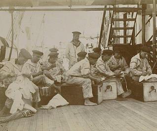 Marineros del SMS Gneisenau