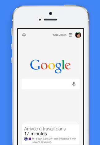 Google Search Pour Ios Integre Maintenant Google Now Et La Recherche Vocale Arobasenet Com