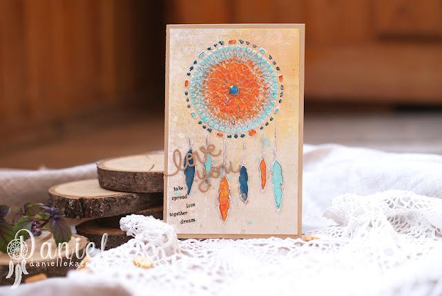 открытка+ловец снов
