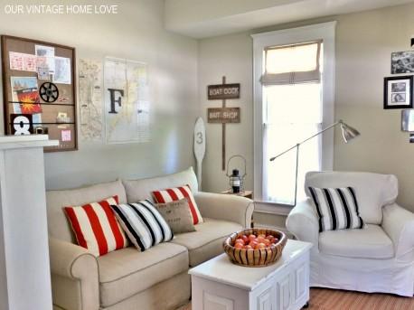 Warna Indah Cipatakan Ruang Keluarga Idaman