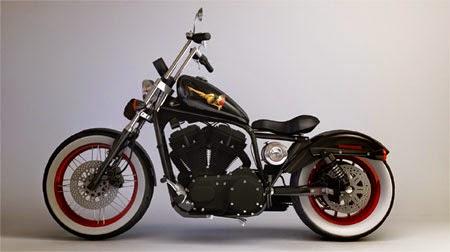 Modifikasi Motor Harley