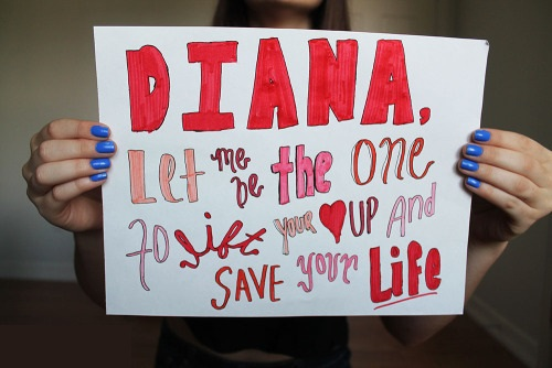 Diana Guitar Chords - One Direction