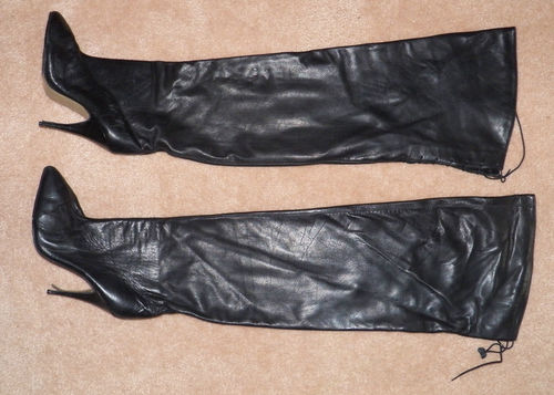 ebay leather northbound leather thigh boots snapped up