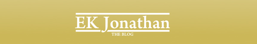 EK Jonathan's Blog