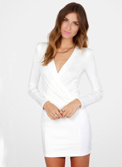 http://www.sheinside.com/White-Long-Sleeve-V-Neck-Bodycon-Dress-p-185696-cat-1727.html?aff_id=1285