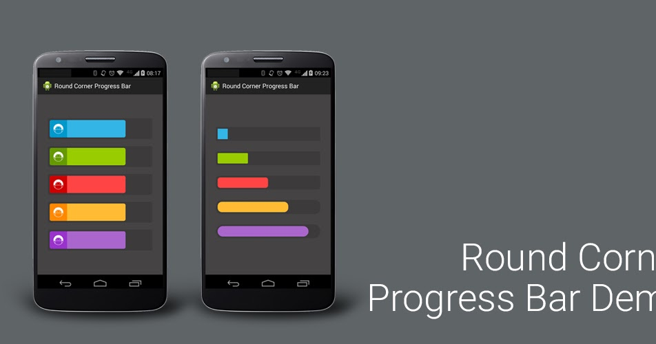 [Android Code] Round Corner Progress Bar สำหรับคนบ้าขอบมน